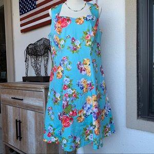 POCKETS Poppy & Bloom Floral Dress 14W NWT